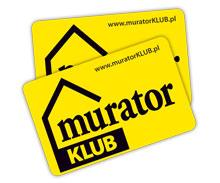 Karta rabatowa MuratorKLUB